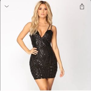 Fashion nova sequence mini dress